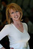 Author and businesswoman Jane Asher, pictured attending the last day of the Edinburgh International Book Festival, where she talked about her work..