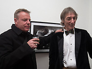 SUGGS; 'CHELSEA' TED JONES, Private view: Tony McGee - Within a Split second- photos of boxers and & Stephen Newton,- Drawings Bermondsey Project Space. London. 28 March 2017