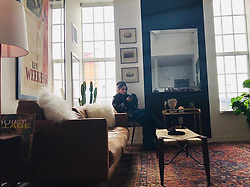 """Vanessa Hudgens releases a photo on Instagram with the following caption: """"\u2764\ufe0f Chillin \u2764\ufe0f when your place finally starts to come together \ud83e\udd70\ud83d\ude1d"""". Photo Credit: Instagram *** No USA Distribution *** For Editorial Use Only *** Not to be Published in Books or Photo Books ***  Please note: Fees charged by the agency are for the agency's services only, and do not, nor are they intended to, convey to the user any ownership of Copyright or License in the material. The agency does not claim any ownership including but not limited to Copyright or License in the attached material. By publishing this material you expressly agree to indemnify and to hold the agency and its directors, shareholders and employees harmless from any loss, claims, damages, demands, expenses (including legal fees), or any causes of action or allegation against the agency arising out of or connected in any way with publication of the material."""