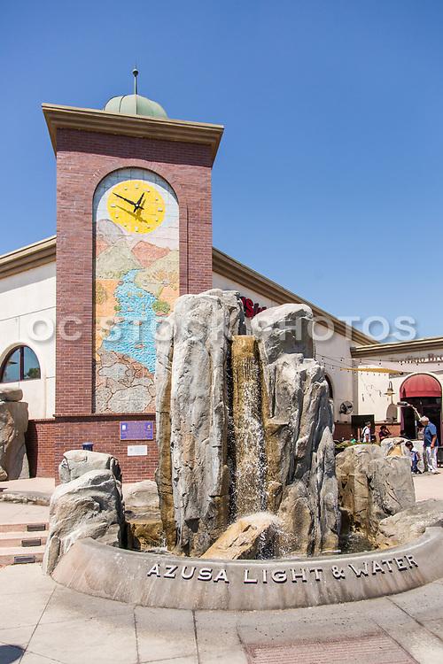 Azusa Light & Water Fountain Plaza