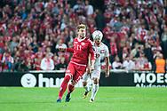 01.09.2017. Copenhagen, Denmark. <br /> Nicklas Bendtner (11) of Denmark during the FIFA 2018 World Cup Qualifier between Denmark and Poland at Parken Stadion.<br /> Photo: © Ricardo Ramirez.
