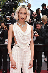 """Soo Joo attends the screening of """"Once Upon A Time In Hollywood"""" during the 72nd annual Cannes Film Festival on May 21, 2019 in Cannes, France. Photo by Lionel Hahn/ABACAPRESS.COM"""