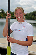 Reading, Great Britain, GBR LW4X, Andrea DENNIS.  2011 GBRowing World Rowing Championship, Team Announcement.  GB Rowing  Caversham Training Centre.  Tuesday  19/07/2011  [Mandatory Credit. Peter Spurrier/Intersport Images]