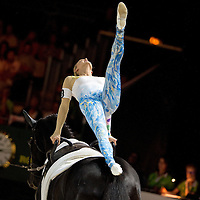 Vaulting - Female Technical Competiton