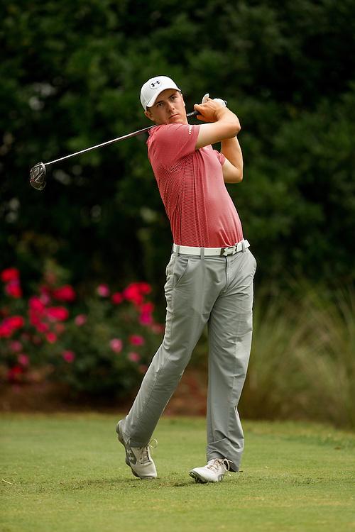 Jordan Spieth. PGA Golf: 2014 The Players Championship<br /> Sunday round 4<br /> TPC Sawgrass/Ponte Vedra, FL<br /> 5/11/2014<br /> X158187 TK4<br /> Credit: Darren Carroll