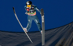 Dominik Peter (SUI) during the Trial Round of the Ski Flying Hill Individual Competition at Day 1 of FIS Ski Jumping World Cup Final 2019, on March 21, 2019 in Planica, Slovenia. Photo by Masa Kraljic / Sportida