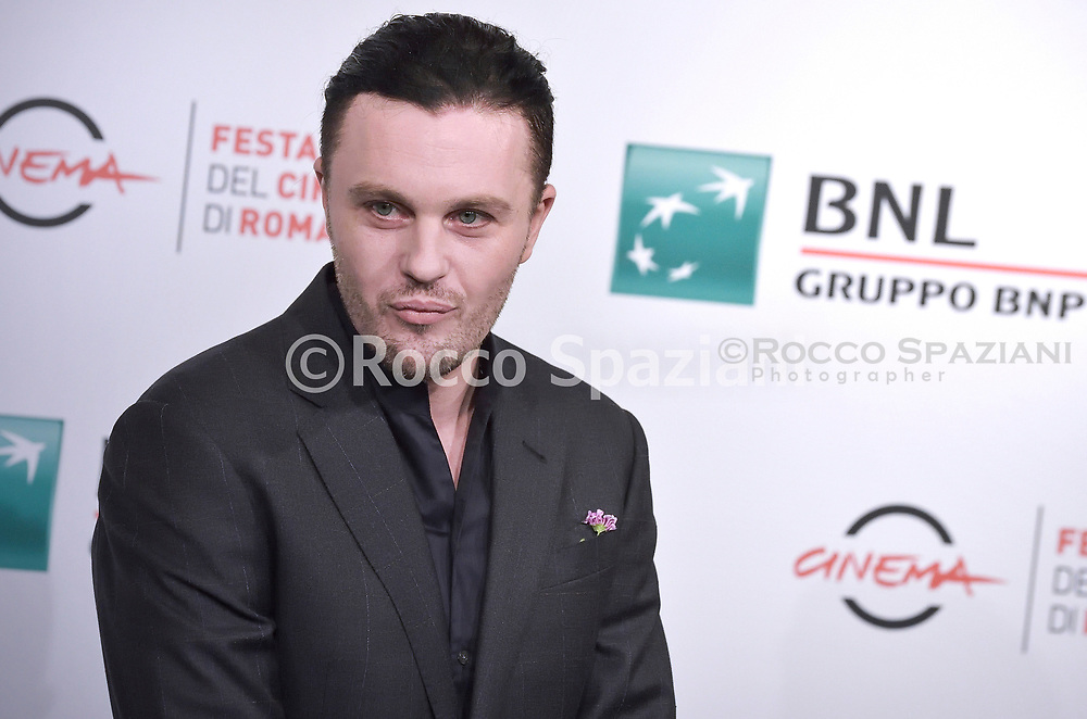 """ROME, ITALY - OCTOBER 24: Michael Pitt  attends the photocall of the movie """"Run With the Hunted"""" during the 14th Rome Film Festival on October 24, 2019 in Rome, Italy."""