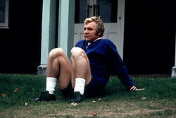 England's Bobby Moore takes it easy