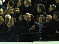 Photo: Javier Garcia/Back Page Images<br />Tottenham Hotspur v Southampton, FA Barclays Premiership, White Hart Lane 18/12/04<br />Sven Goran Eriksson leaves the game ten minutes from time after witnessing a vintage performance from Jermaine Defoe