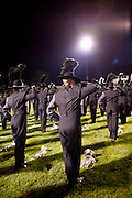 The Oregon Marching Band performs in Sun Prairie, Wisconsin on July 2, 2011.