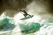 Big wave surfer does a large manoevre in praia do beliche, sagres surf photography, sagres surf photographer, surf session surf photo, surf pictures, holiday photography, watersports photography, portugal watersports photographer, surf