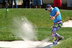 March 23, 2019 - Palm Harbor, FL, U.S. - PALM HARBOR, FL - MARCH 23: Rory Sabbatini hits from a green side bunker during the third round of the Valspar Championship on March 23, 2019, at Westin Innisbrook-Copperhead Course in Palm Harbor, FL. (Photo by Cliff Welch/Icon Sportswire) (Credit Image: © Cliff Welch/Icon SMI via ZUMA Press)
