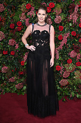 Lady Kitty Spencer attending the Evening Standard Theatre Awards 2018 at the Theatre Royal, Drury Lane in Covent Garden, London. Restrictions: Editorial Use Only. Photo credit should read: Doug Peters/EMPICS