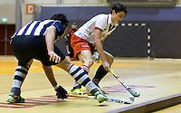 ROTTERDAM - MOP H2 tegen HDM Landskampioenschap zaalhockey voor reserveteams. FOTO KOEN SUYK