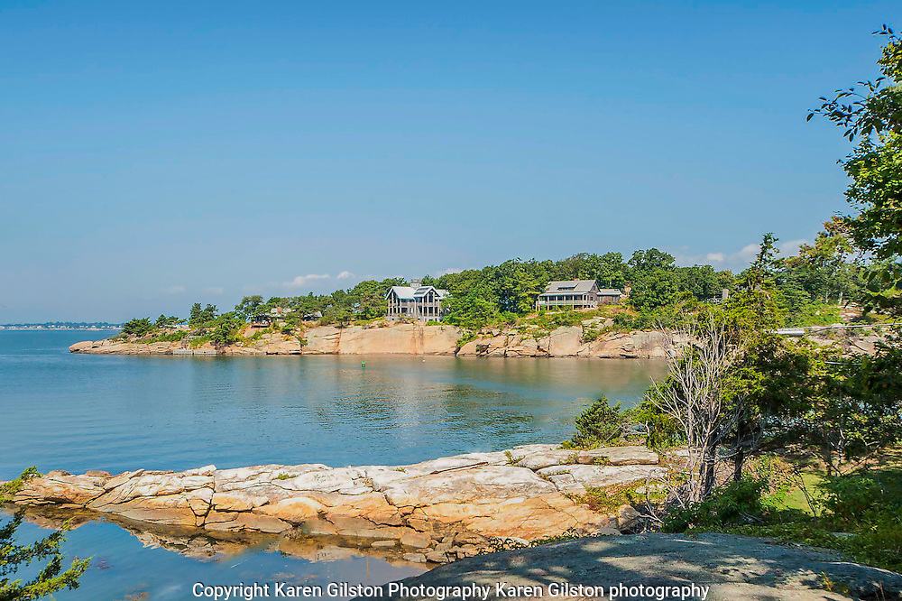 Island hopping around the Thimbles, a group of islands off the Connecticut coast.