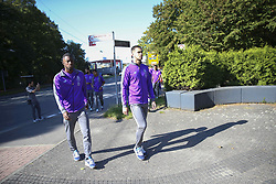 September 18, 2018 - Na - Castrop-Rauxel, 18/09/2018 - Morning walk of the Fc Porto next to the Hotel Vienna House Easy Castrop-Rauxel, Germany. Bazoer, Diogo Costa  (Credit Image: © Atlantico Press via ZUMA Wire)