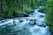Ingalls Creek just before sunset.