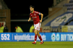 Charlton Athletic's Johnnie Jackson limps after a challenge