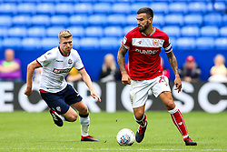 Marlon Pack of Bristol City takes on Josh Vela of Bolton Wanderers - Mandatory by-line: Robbie Stephenson/JMP - 11/08/2018 - FOOTBALL - University of Bolton Stadium - Bolton, England - Bolton Wanderers v Bristol City - Sky Bet Championship