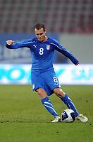 Fotball<br /> Italia<br /> Foto: Insidefoto/Digitalsport<br /> NORWAY ONLY<br /> <br /> Alessandro DIAMANTI Italia<br /> <br /> 17.11.2010<br /> Italia v Romania