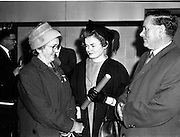05/12/1961<br /> 12/05/1961<br /> 05 December 1961<br /> Conferring Day at the Pharmaceutical Society of Ireland, 18 Shrewsbury Road Dublin. Graduate pictured with parents.