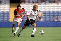 Junichi Inamoto (Fulham)  Fulham v Real Mallorca, Pre-Season Friendly, 10/08/2003. Credit: Colorsport / Matthew Impey