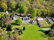 Nederland, Noord-Holland, 's-Gravenland;  07-05-2021;<br /> 's-Graveland, landgoed Swaenenburgh. Ontwerp landhuis architectP.J.H. Cuypers, ontwerp tuin en zwembad F.A. Eschauzier.<br /> 's-Graveland, Swaenenburgh estate.<br /> luchtfoto (toeslag op standard tarieven);<br /> aerial photo (additional fee required)<br /> copyright © 2021 foto/photo Siebe Swart