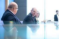 """29 OCT 2020, BERLIN/GERMANY:<br /> Peter Altmaier (L), CDU, Bundeswirtschaftsminister, und Olaf Scholz (R), SPD, Bundesfinanzminister, wahrend einer Pressekonferenz zum Thema """"Neue Corona-Hilfen: Stark durch die Krise"""", Bundespressekonferenz<br /> IMAGE: 20201029-01-015<br /> KEYWORDS: Corvid-19, Unterstuetzung, Hilfe,"""