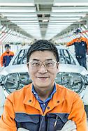 CHINA / Chengdu  /  12/11/2013<br /> <br /> Volvo Cars Plant in Chengdu / Xiao Liming Car Maker Volvo Cars Chengdu <br /> <br /> <br /> © Daniele Mattioli