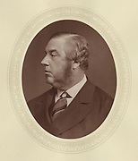 'Samuel Morley (1809-1886) c1880, English Liberal politician, philanthropist, abolutionist and member of the Temperance movement. Served on the London School Board 1870-1876.'