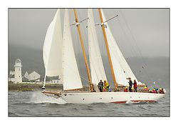 Day two of the Fife Regatta,Passage race to Rothesay.<br /> <br /> Astor, Richard Straman, USA, Schooner, Wm Fife 3rd, 1923<br /> <br /> * The William Fife designed Yachts return to the birthplace of these historic yachts, the Scotland's pre-eminent yacht designer and builder for the 4th Fife Regatta on the Clyde 28th June–5th July 2013<br /> <br /> More information is available on the website: www.fiferegatta.com
