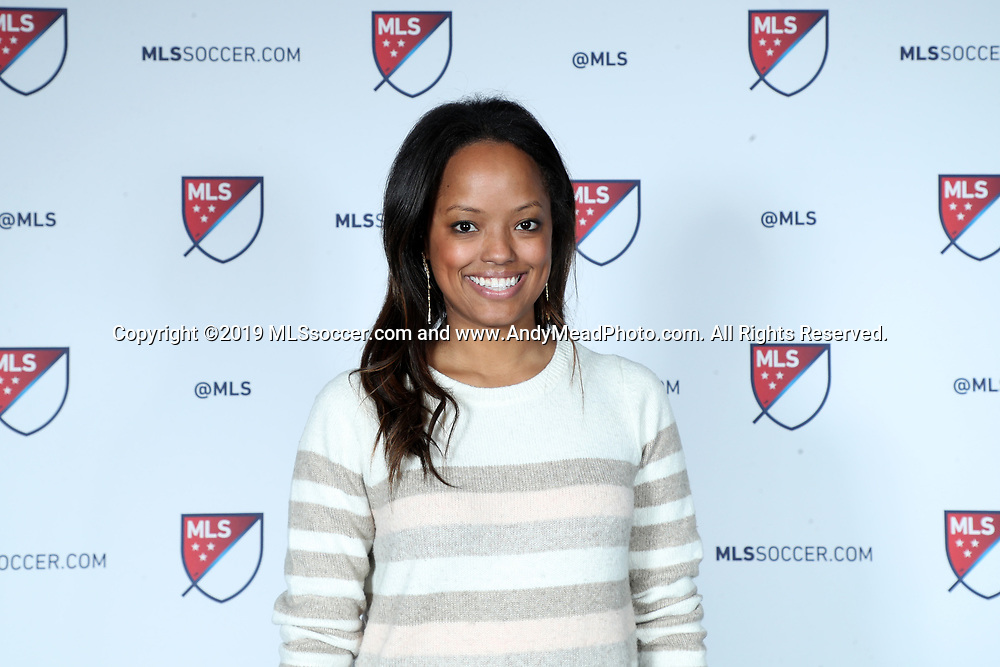 CHICAGO, IL - JANUARY 11: MLS Manager of Hospitality and Events Jamie Batey. The MLS SuperDraft 2019 presented by adidas was held on January 11, 2019 at McCormick Place in Chicago, IL.