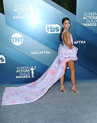 Sarah Hyland at the 26th Annual Screen Actors Guild Awards held at the Shrine Auditorium in Los Angeles, USA on January 19, 2020.