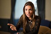 Ana Irene Delgado, photographed at the Law Society