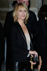 Amber Valletta arriving at the Yves Saint-Laurent show as a part of Paris Fashion Week Ready to Wear Spring/Summer 2017 in Paris, France on September 09, 2016. Photo by Aurore Marechal/ABACAPRESS.COM