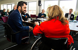 Pictured: <br /> Transport minister Humza Yousaf unveiled details of   Going Forward - Scotland's Accessible Travel Framework in Edinburgh today. The blueprint, which has been co-produced by Transport Scotland, disabled people's organisations, local government, transport providers and operators. <br /> <br /> <br /> Ger Harley | EEm 21 September 2016