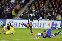 Goal Alexandre LACAZETTE  - 20.01.2015 - Nantes / Lyon  - Coupe de France 2014/2015<br />Photo : Vincent Michel / Icon Sport