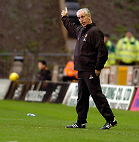 Photo: Leigh Quinnell.<br /> Wolverhampton Wanderers v Leicester City. Coca Cola Championship. 09/12/2006. Wolves boss Mick McCarthy points the way.