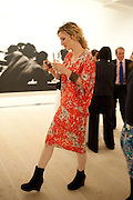 LISA BESSET, Indonesian Eye Contemporary Art Exhibition Reception, Saatchi Gallery. London. 9 September 2011. <br /> <br />  , -DO NOT ARCHIVE-© Copyright Photograph by Dafydd Jones. 248 Clapham Rd. London SW9 0PZ. Tel 0207 820 0771. www.dafjones.com.