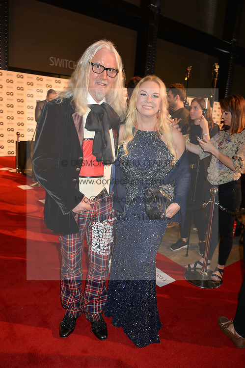BILLY CONNOLLY and PAMELA STEPHENSON at the GQ Men of The Year Awards 2016 in association with Hugo Boss held at Tate Modern, London on 6th September 2016.