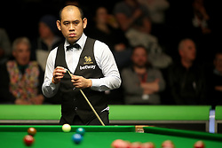 Dechawat Poomjaeng during day two of the Betway UK Championship at The York Barbican. PRESS ASSOCIATION Photo. Picture date: Wednesday November 28, 2018. Photo credit should read: Richard Sellers/PA Wire