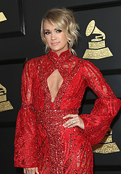 February 12, 2017 - Los Angeles, CA, United States - 12 February 2017 - Los Angeles, California - Carrie Underwood. 59th Annual GRAMMY Awards held at the Staples Center. Photo Credit: AdMedia (Credit Image: © AdMedia via ZUMA Wire)