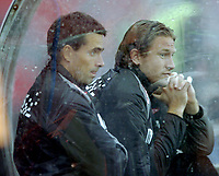 Fotball, UEFA-Cup, 02 August 2007, Brann - Carmarthen Town, Martin Andresen, Thorstein Helstad, Brann.<br /> <br /> Foto: Kjetil Espetvedt, Digitalsport.