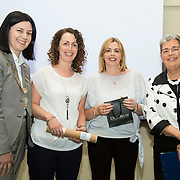 23.05.2018.       <br /> Today, the Institute of Community Health Nursing (ICHN) hosted its2018 community nurseawards in association withHome Instead Senior Care,at its annual nursing conference, in the Strand Hotel Limerick, rewarding public health nurses for their dedication to community care across the country. <br /> <br /> Poster Awards, pictured are recipients, Anne O'Connor and Rosaleen O'Kane with Anne Lynott ICHN President and Virginia Pye.  Picture: Alan Place