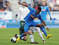 Fotball<br /> Tyskland<br /> 14.03.2010<br /> Foto: Witters/Digitalsport<br /> NORWAY ONLY<br /> <br /> v.l. Torsten Frings SVW, Maicosuel<br /> Bundesliga TSG 1899 Hoffenheim - SV Werder Bremen