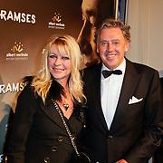 NLD/Den Haag/20111201- Premiere Ramses, Manuela Kemp en Ed Nijpels