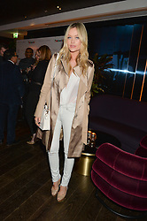 LAURA WHITMORE at a party to celebrate the Astley Clarke & Theirworld Charitable Partnership held at Mondrian London, Upper Ground, London on 10th March 2015.