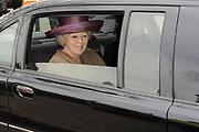 """Koningin Beatrix opent 'Amsterdamse Westerstraat' in Openluchtmuseum in Arnhem. Met deze aanwinst viert het museum het honderdjarig bestaan. ////  Queen Beatrix opens """"Amsterdam Westerstraat 'in Open Air Museum in Arnhem. With this acquisition, the museum celebrates its centenary.<br /> <br /> Op de foto / On the photo:  Koning Beatrix gaat weg / Queen Beatrix leaves"""