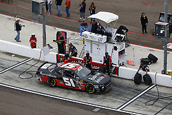 March 10, 2018 - Avondale, Arizona, United States of America - March 10, 2018 - Avondale, Arizona, USA: Jeremy Clements (51) brings his car down pit road for service during the DC Solar 200 at ISM Raceway in Avondale, Arizona. (Credit Image: © Chris Owens Asp Inc/ASP via ZUMA Wire)