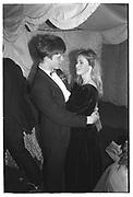 NICOLAS SHARROCK, ANNA BOTTING, Valentine Ball, Oxford Union, 14 Feb 1987.